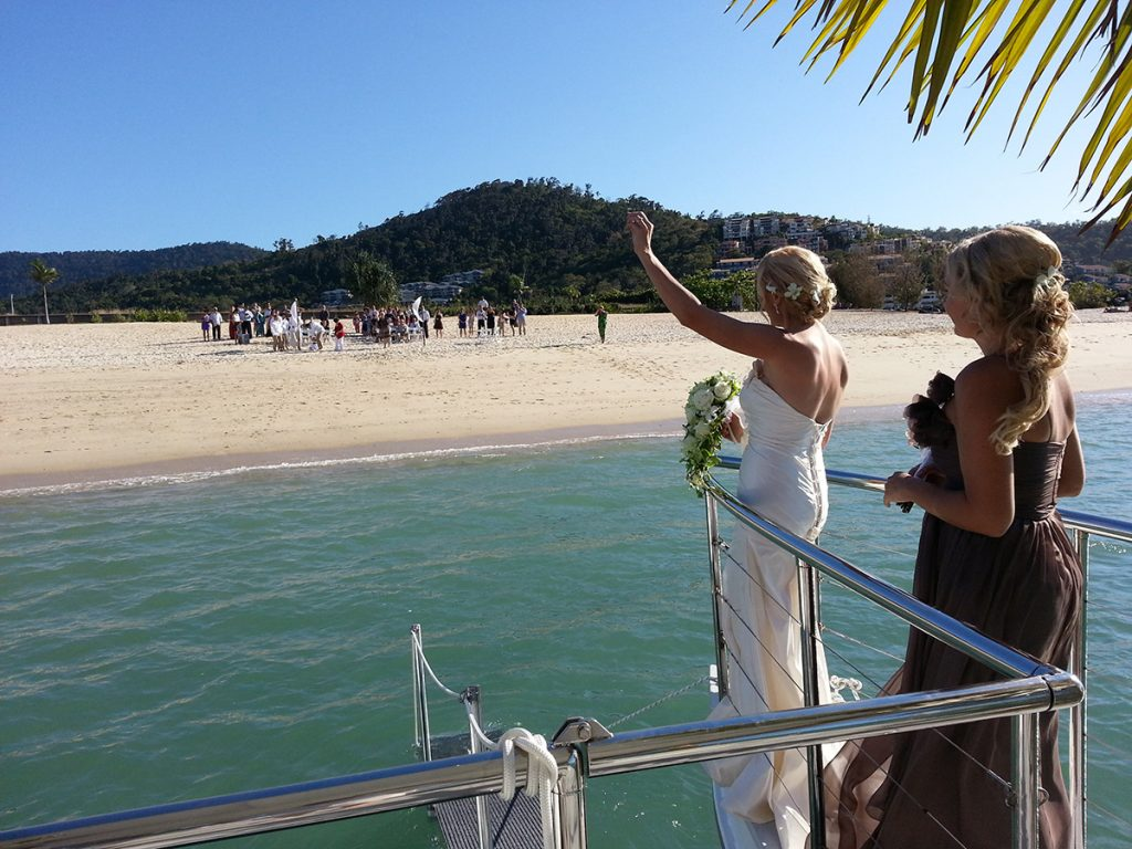 Wedding Cruise Whistundays